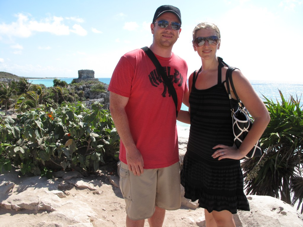 5 months pregnant in Mexico