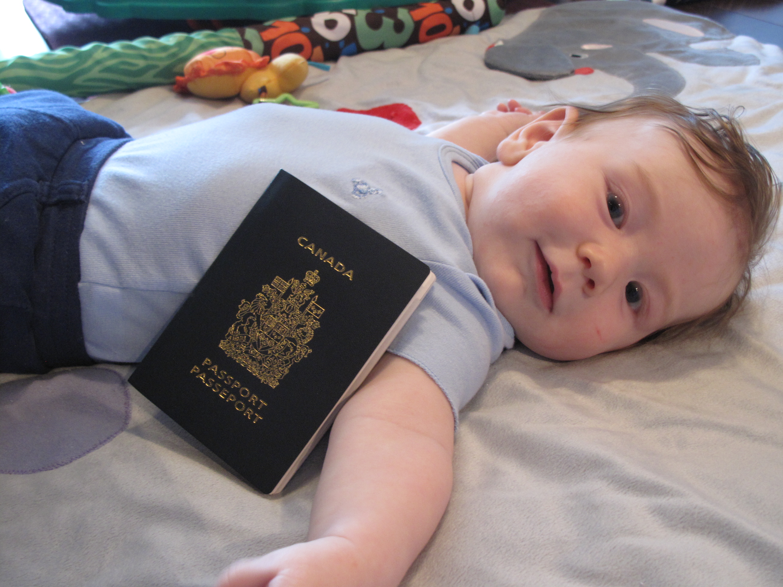 Infant Or Child Canadian Passport Tips For Baby Travel