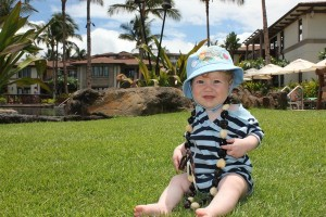 Baby B in Maui Hawaii at Wailea Beach Villas