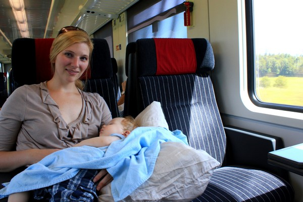 Tips For Baby Travel 187 Where S Baby B Riding The Rails In