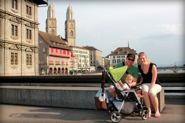 Family Trio, Zurich, Switzerland