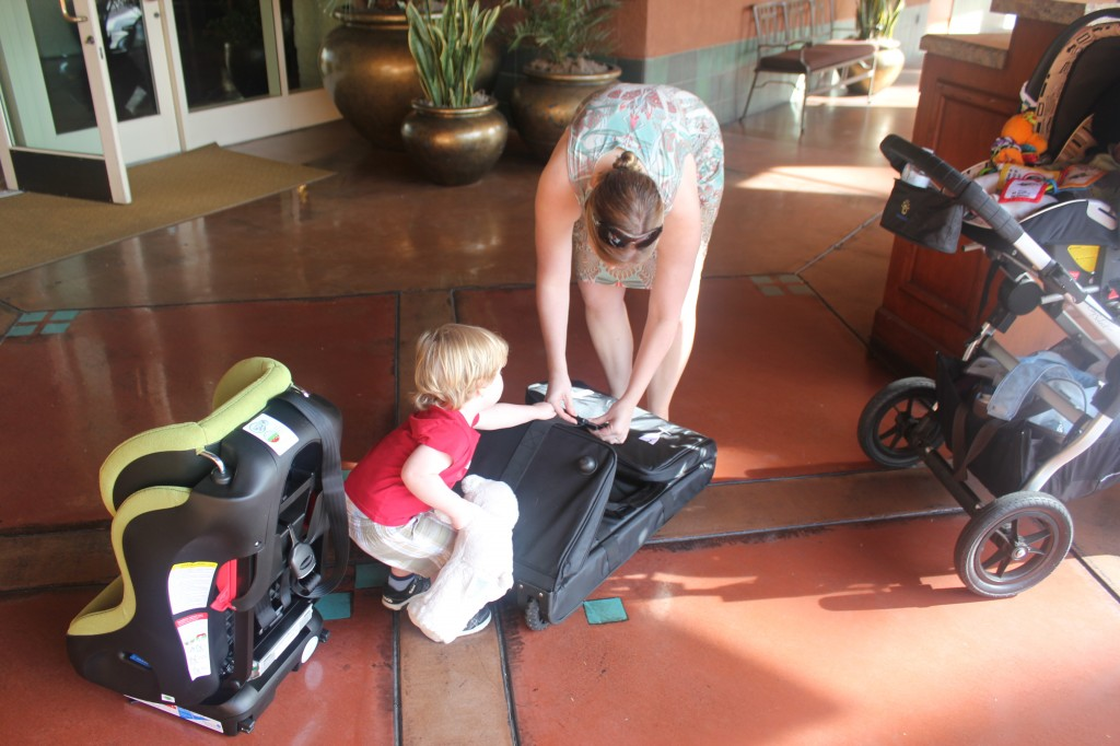 Tips For Baby Travel 187 Traveling With A Car Seat And A Weelee